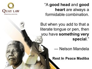 Nelson Mandela dies Message from the auckland law firm team